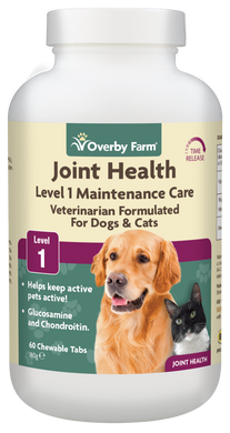 Joint Health Level 1 for Dogs & Cats Chewable Tablets 60pcs