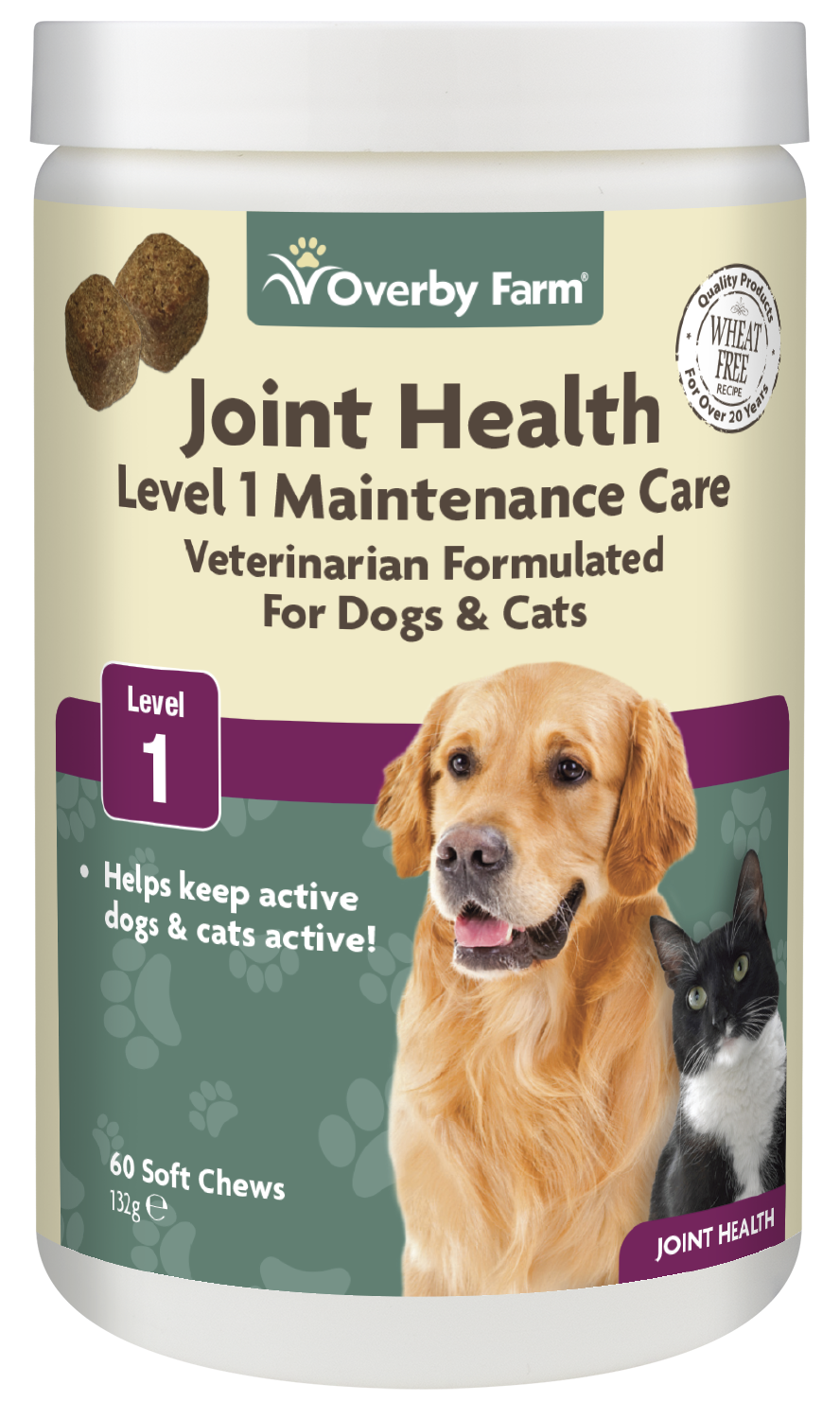 Joint Health Level 1 for Dogs & Cats Soft Chew 60pcs