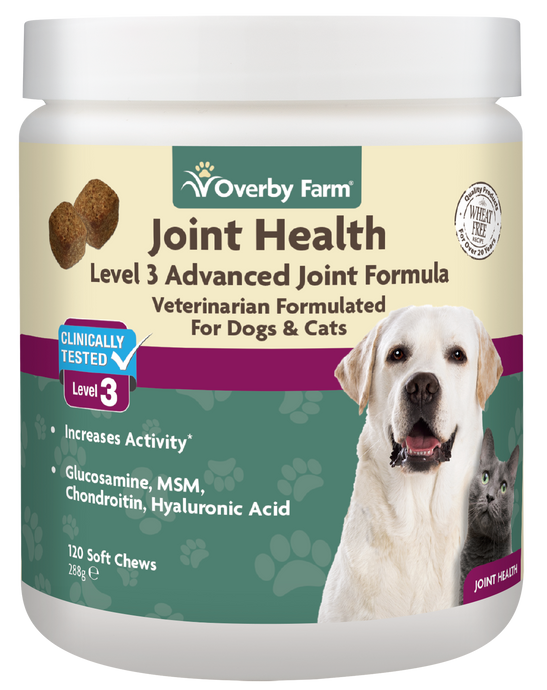 Joint Health Level 3 for Dogs & Cats Soft Chew 120pcs