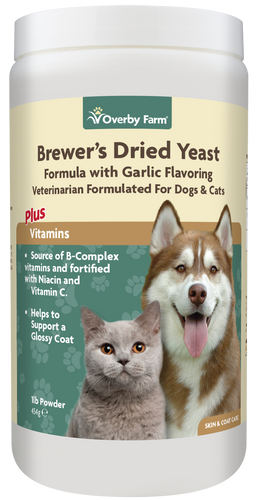 Brewers Dried Yeast with Garlic Powder for Cats & Dogs 454g