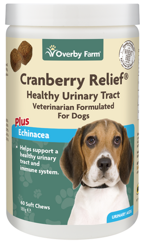 Cranberry Relief for Dogs Soft Chew 60pcs