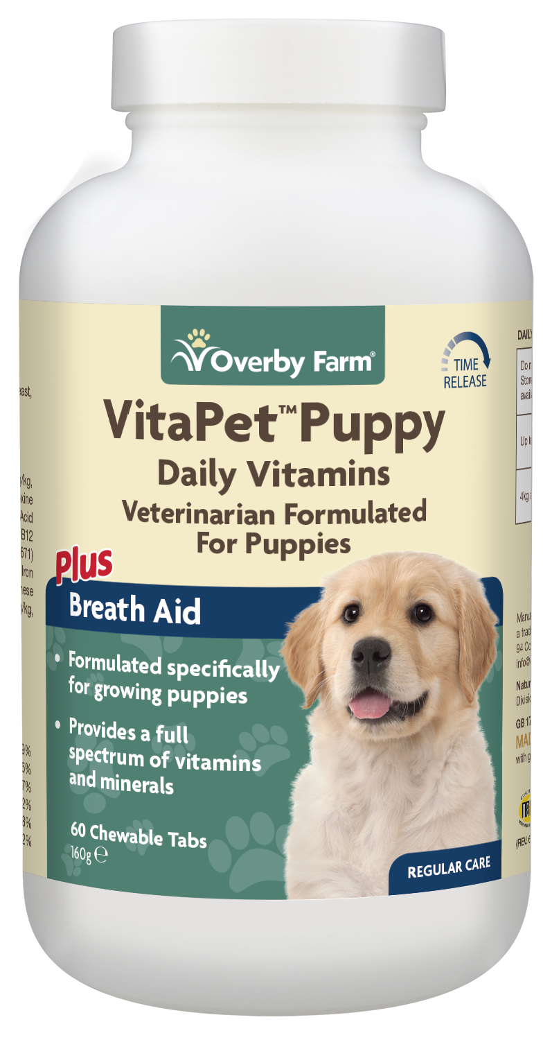 VitaPet Puppy Daily Vitamins Chewable Tablet 60pcs