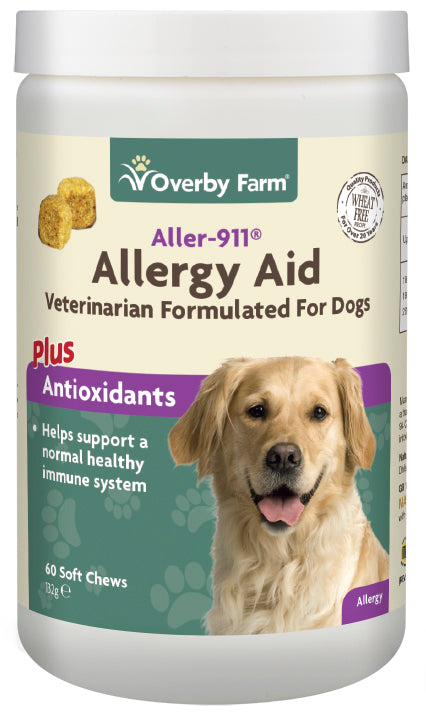 Allergy Aid For Dogs Soft Chews 60pcs