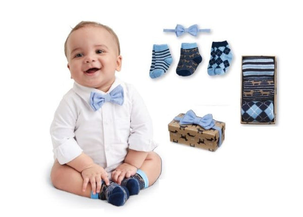Sock and Bowtie Gift Set