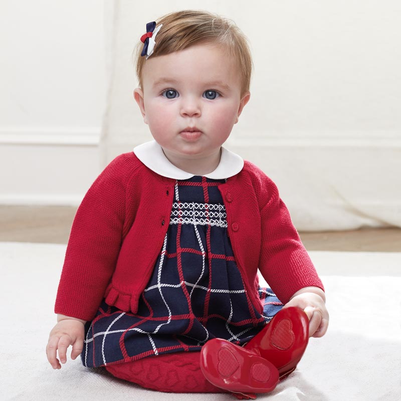 Baby Girl Plaid Dress
