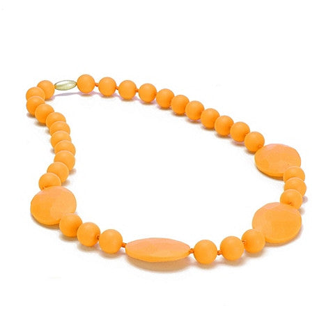Teething Necklace - Perry Creamsicle