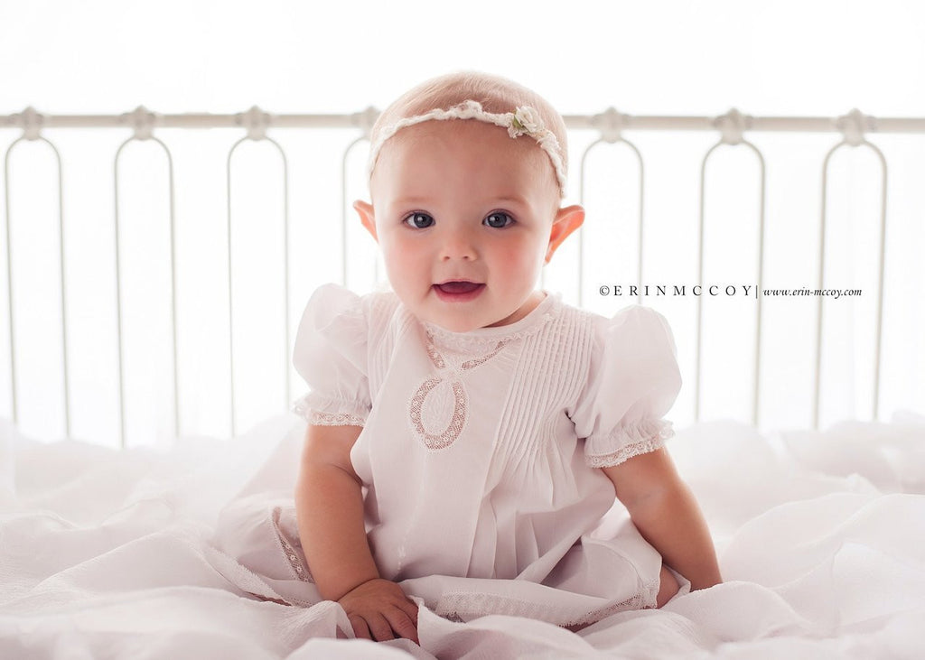 Baby Girl's Lace Ribbon Slip Dress