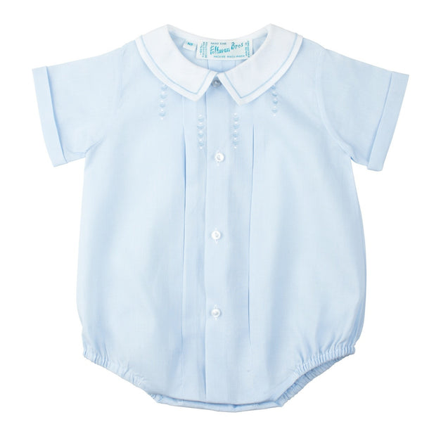 Baby Boys Newborn Button Front Bubble