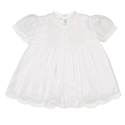 Newborn Baby Girls Lace Trim Slip Dress