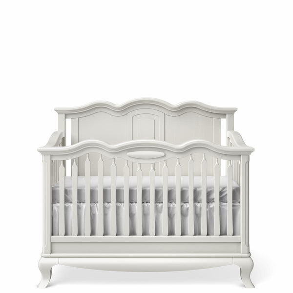 Cleopatra Convertible Crib / Solid Back
