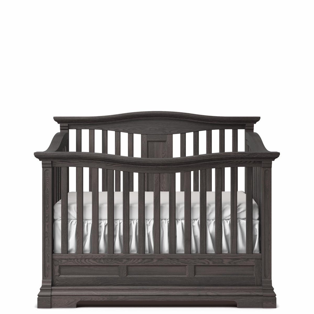 cribs karisma furniture panel crib n white kids solid romina