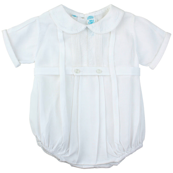 Boys Newborn White Bubble