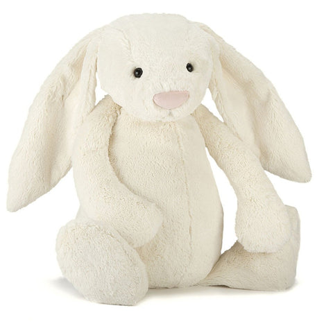 Bashful Cream Bunny Stuffed Animal
