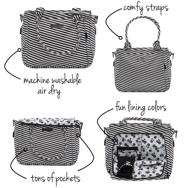 Be Classy Black Magic Diaper Bag