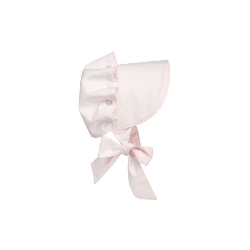 Beaufort Bonnet - Worth Avenue White With Plantation Pink