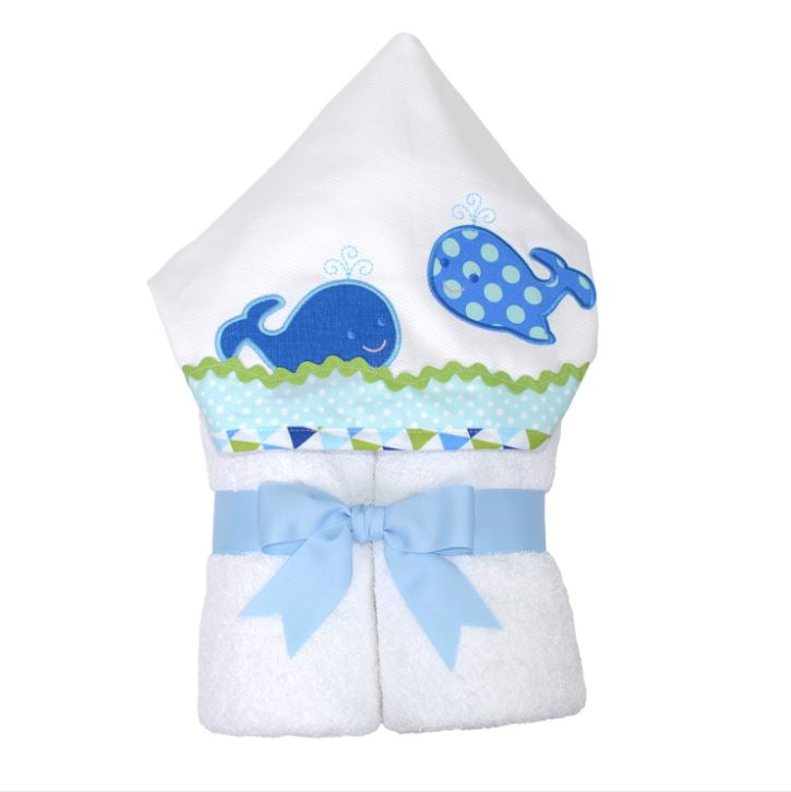 Blue Whale Everykid Towel