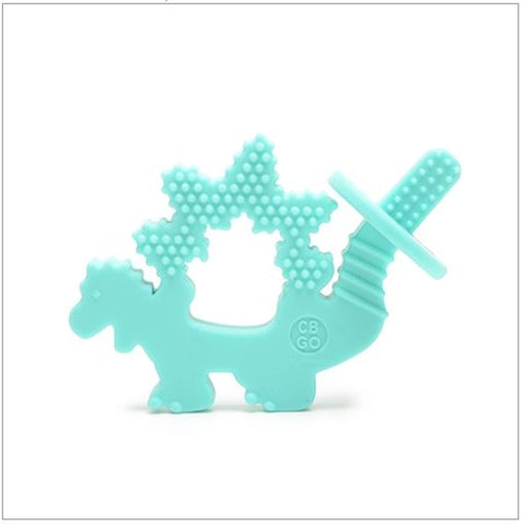 100% Silicone Chewpal (Teether with Training Brush)