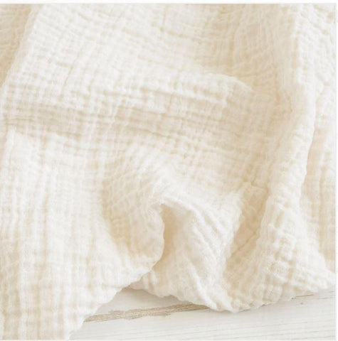 Sugar + Maple Classic Muslin Swaddle - Ivory
