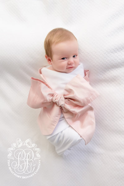 Silk Bow Swaddle ® Southern Blush Silk