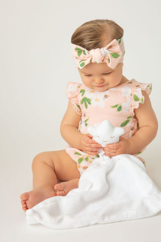 Baby Girls Magnolias Sunsuit
