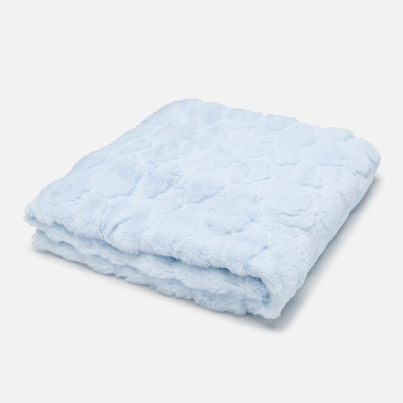 Blue Fur Blanket