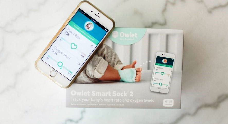 Owlet Baby Monitor Smart Sock 2 The Velveteen Rabbit