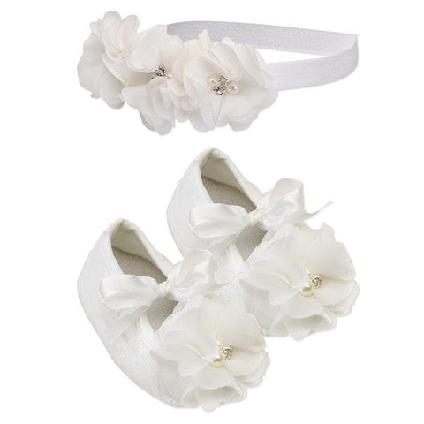 Petal Shoes and Headband