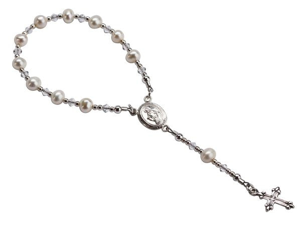 Sterling Silver Baby Rosary
