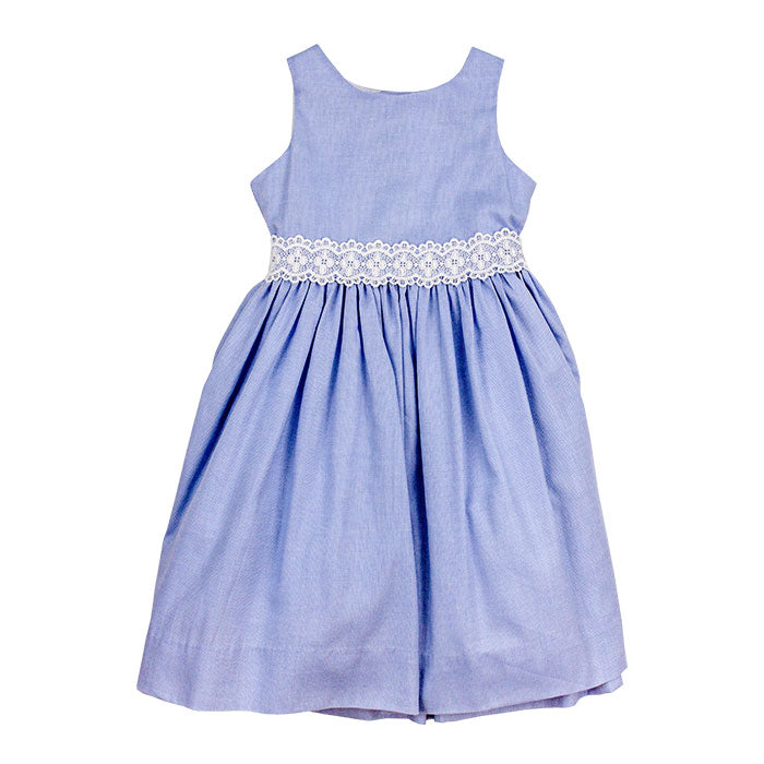 Stillwater Blue Empire Dress