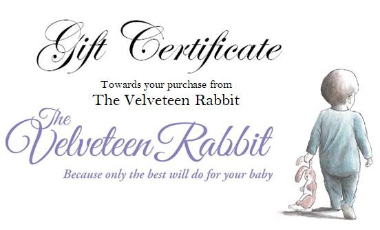 Gift Certificate - Pick your denomination