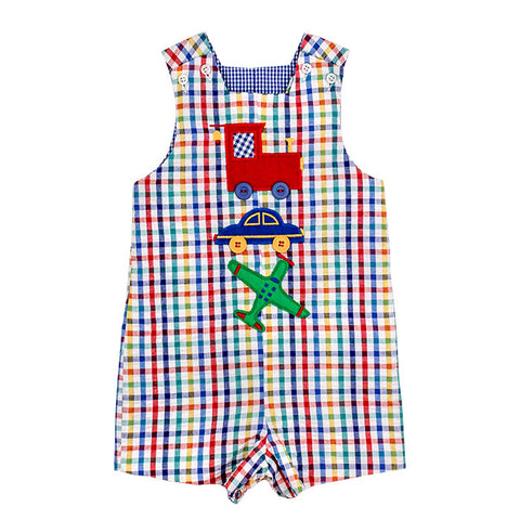 Boys Zoom Zoom-Reversible John John
