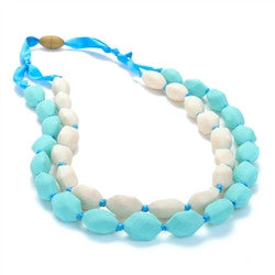Teething Necklace - Astor Turquois