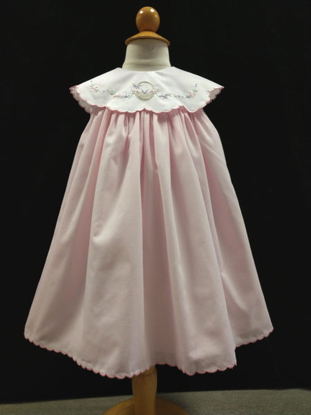 Baby Girls Dress Pink with Basket