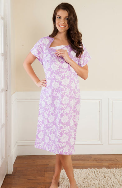 Baby Be Mine Helen Gownie Delivery Labor Gown