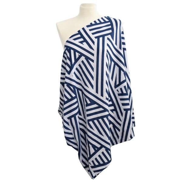 Breastfeeding Scarf - City Chevron