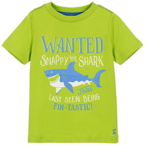 Snappy the Shark Graphic T-Shirt