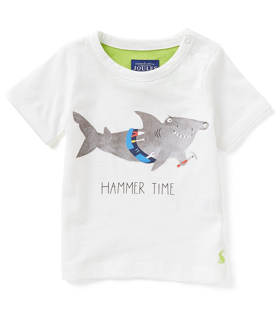 Boys Hammer Time T-Shirt and Knit Short Set