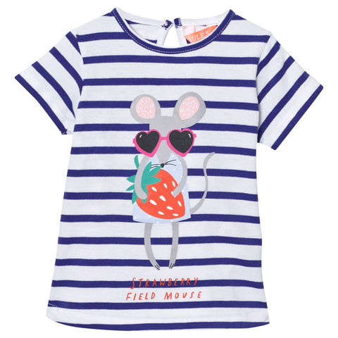 Mouse Stripe T Shirt