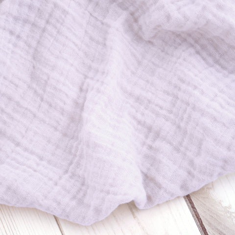 Sugar + Maple Classic Muslin Swaddle - Lilac