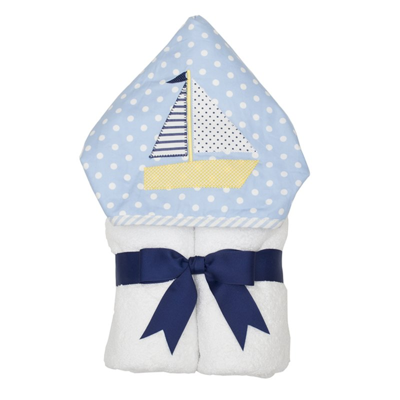 Nautical Sailboat Everyday Towel