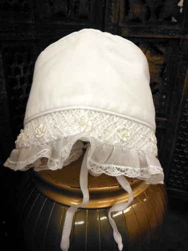 Christening/Baptism Dress and Bonnet