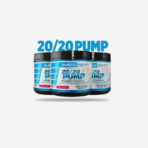 20/20 Pump Tropical Punch Advanced Pre-Workout