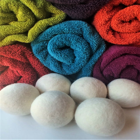 Premium Dryer Balls - 100% New Zealand Wool