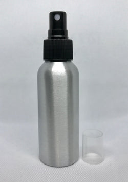 Aluminum Spray Bottles with Mister - 100ml