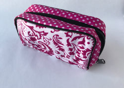 Pink Paisley Essential Oil Bag - Holds 5ml and 15ml Bottles