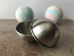 "Stainless Steel Bath Bomb Mold - 2.5"" Round"