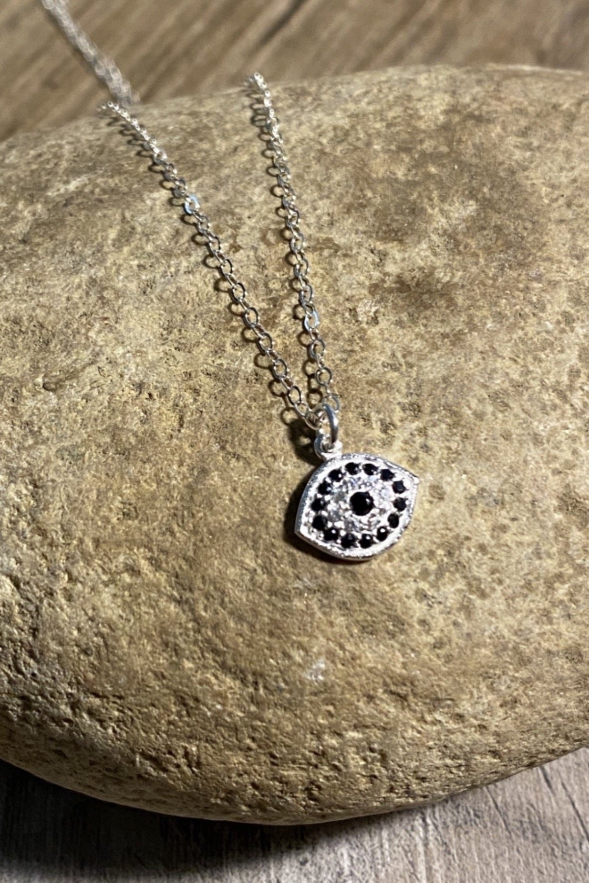Eye of Spinel Necklace
