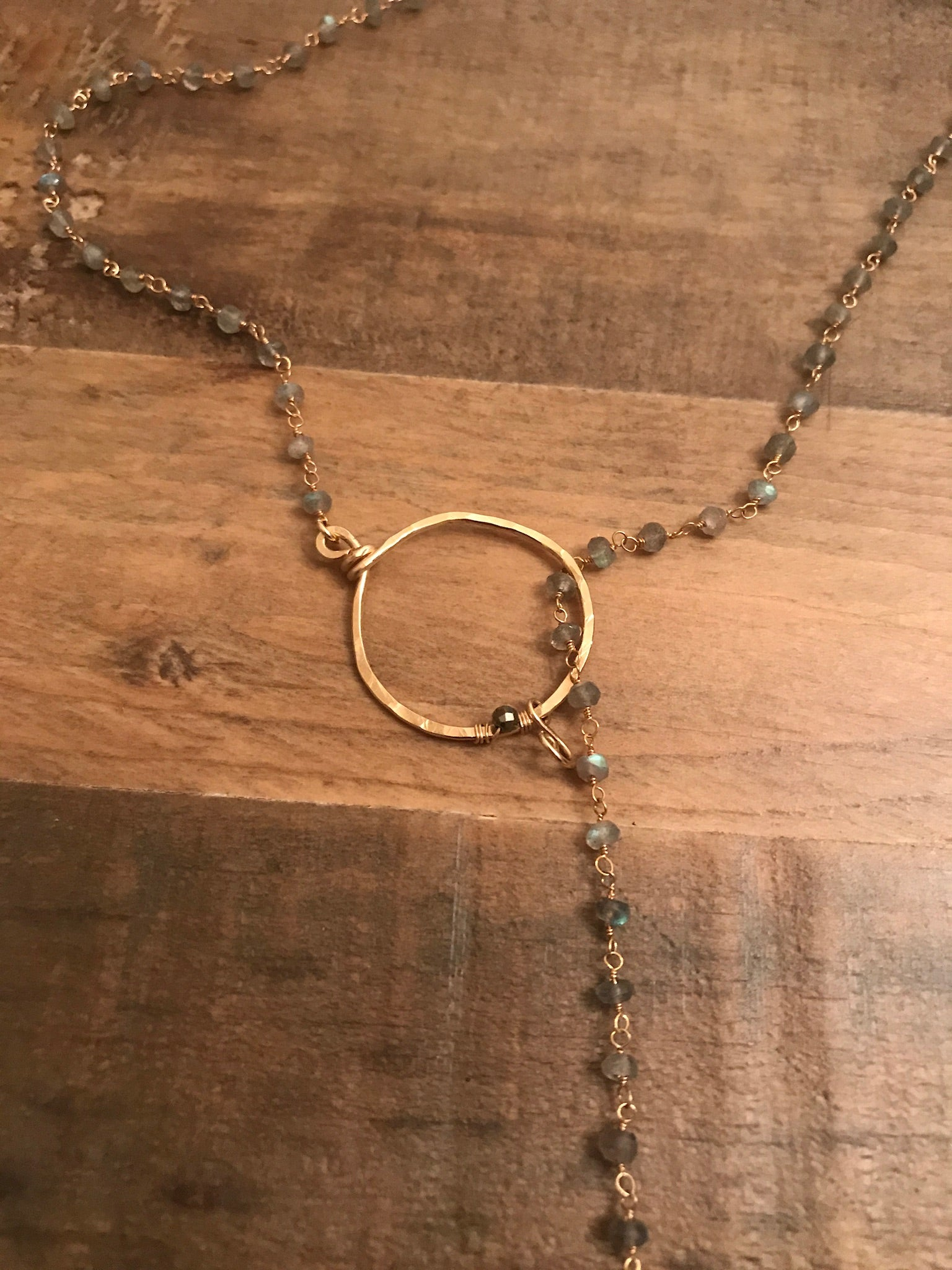 Loop and Linger Lariat Necklace