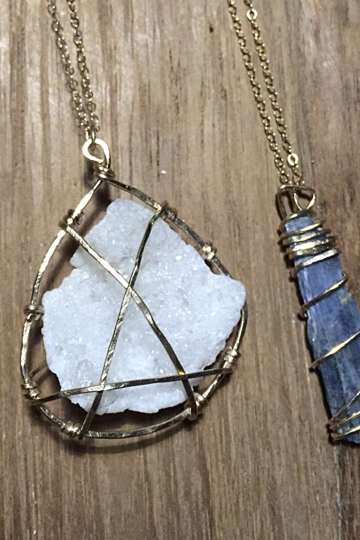 Caged Pendant Necklace (Various)