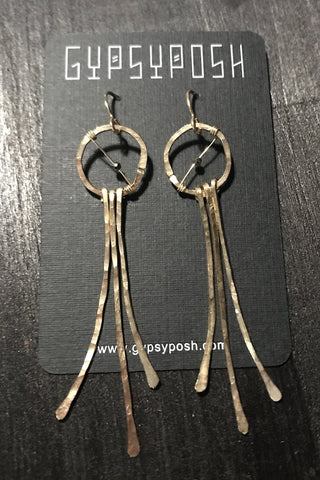 Moroccan Princess Clothespin Earrings